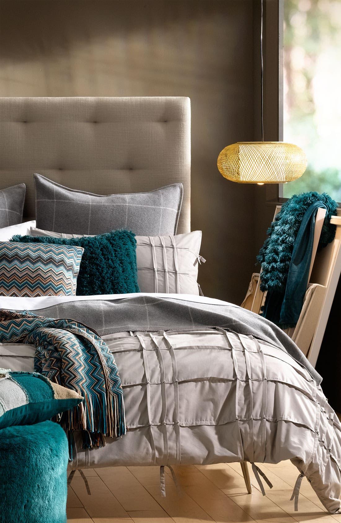 Alternate Image 2  - Kennebunk Home 'Caitlin' Chevron Knit Pillow
