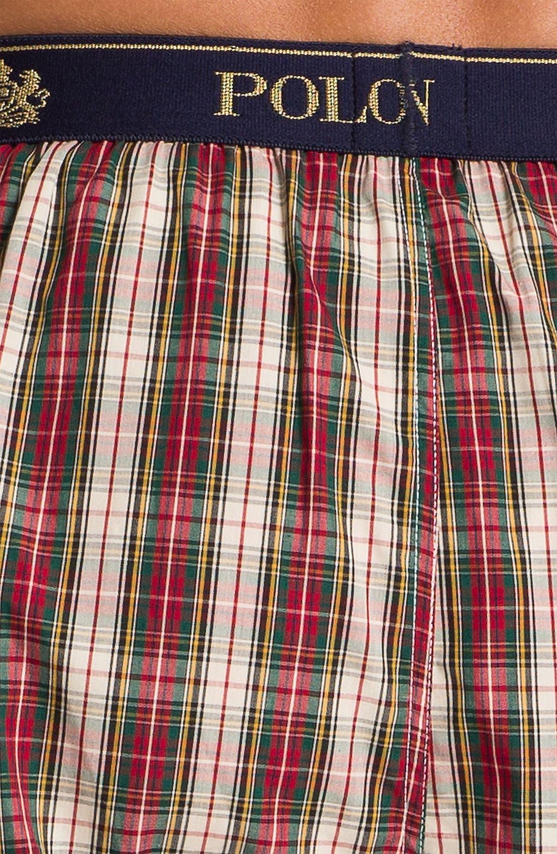Alternate Image 3  - Polo Ralph Lauren Plaid Lounge Pants