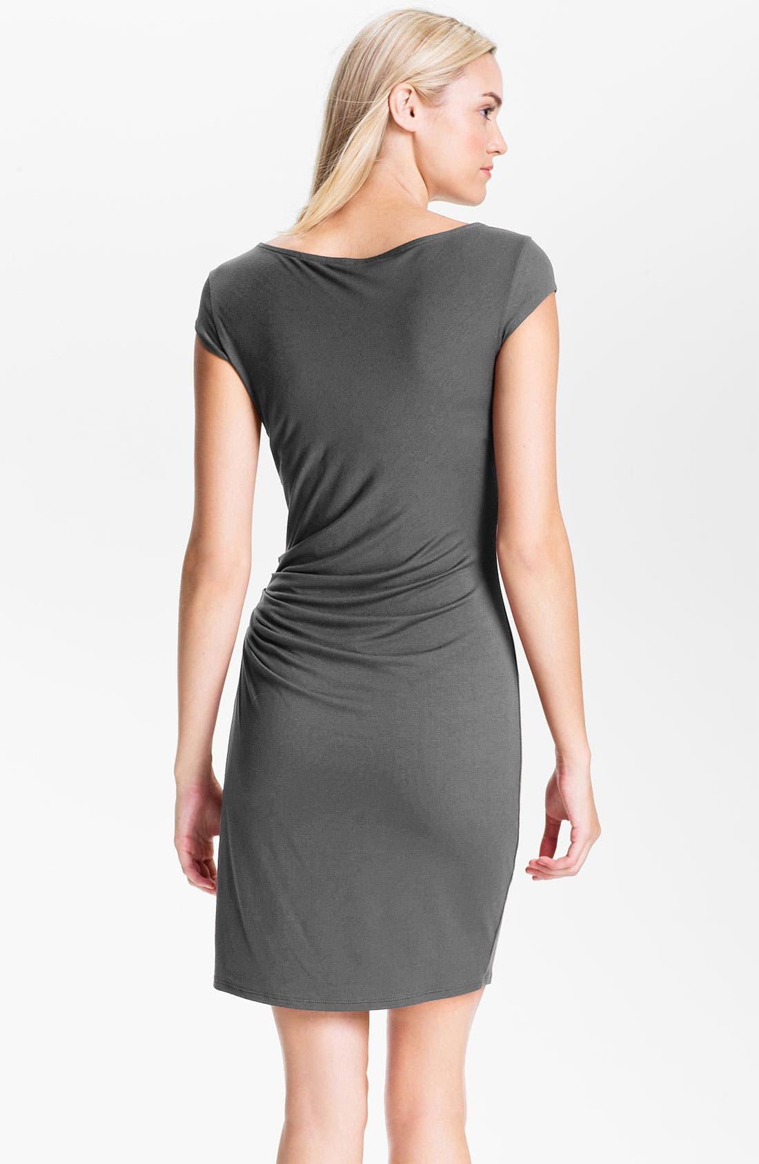 Alternate Image 2  - Three Dots Side Ruched Jersey Dress