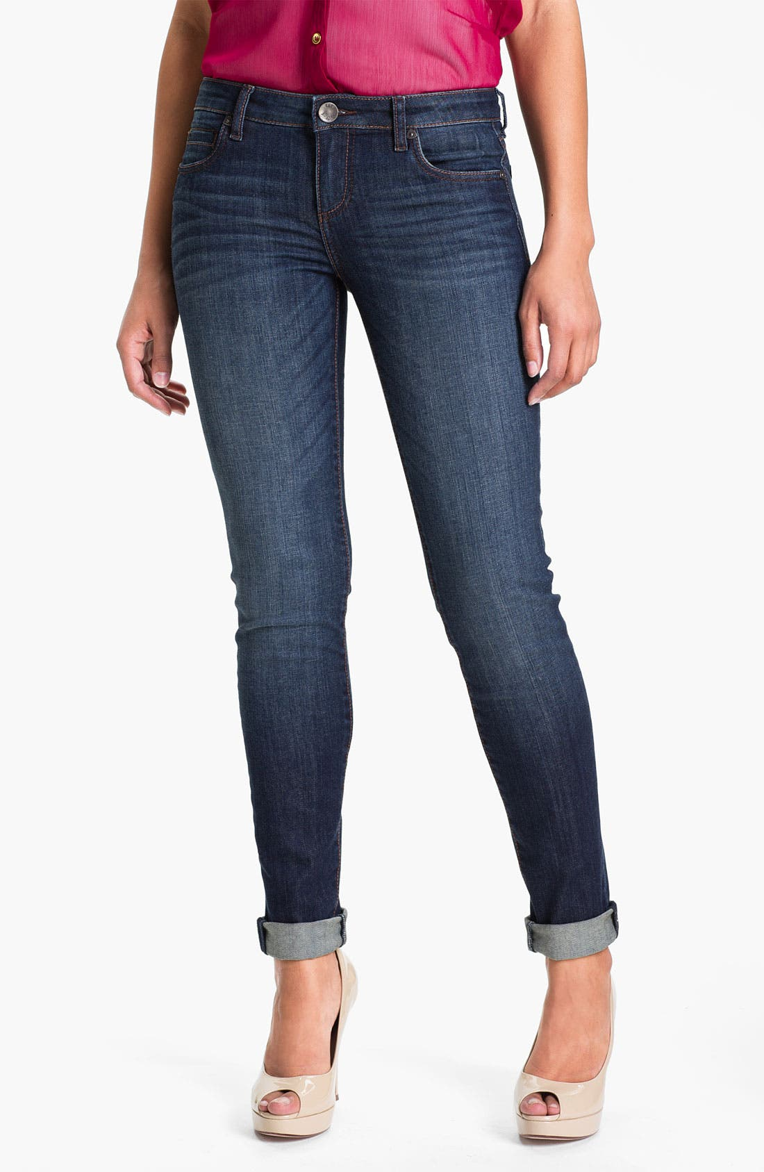 Alternate Image 1 Selected - KUT from the Kloth 'Diana' Skinny Jeans (Wise) (Online Only)