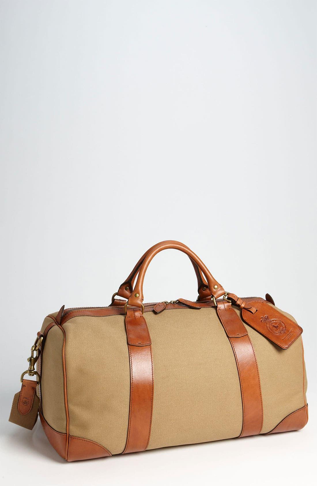 Main Image - Polo Ralph Lauren Canvas Gym Bag