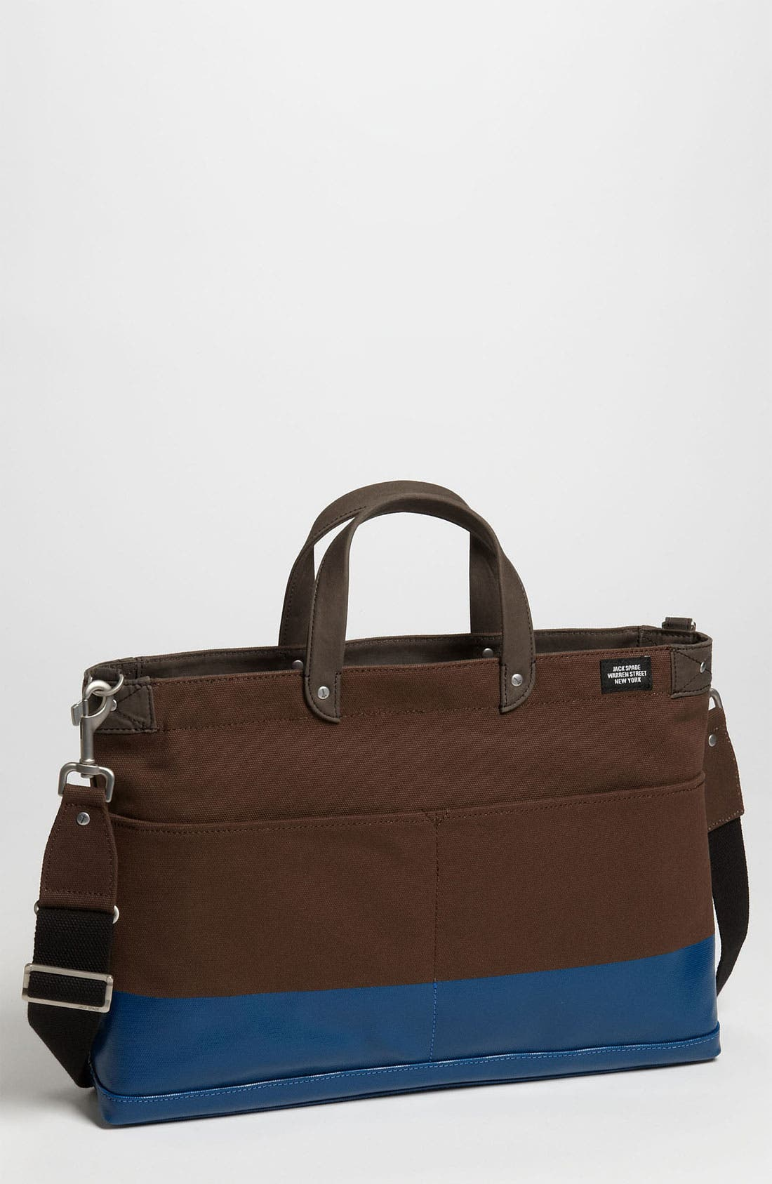 Main Image - Jack Spade 'York Industrial' Canvas Dipped Briefcase