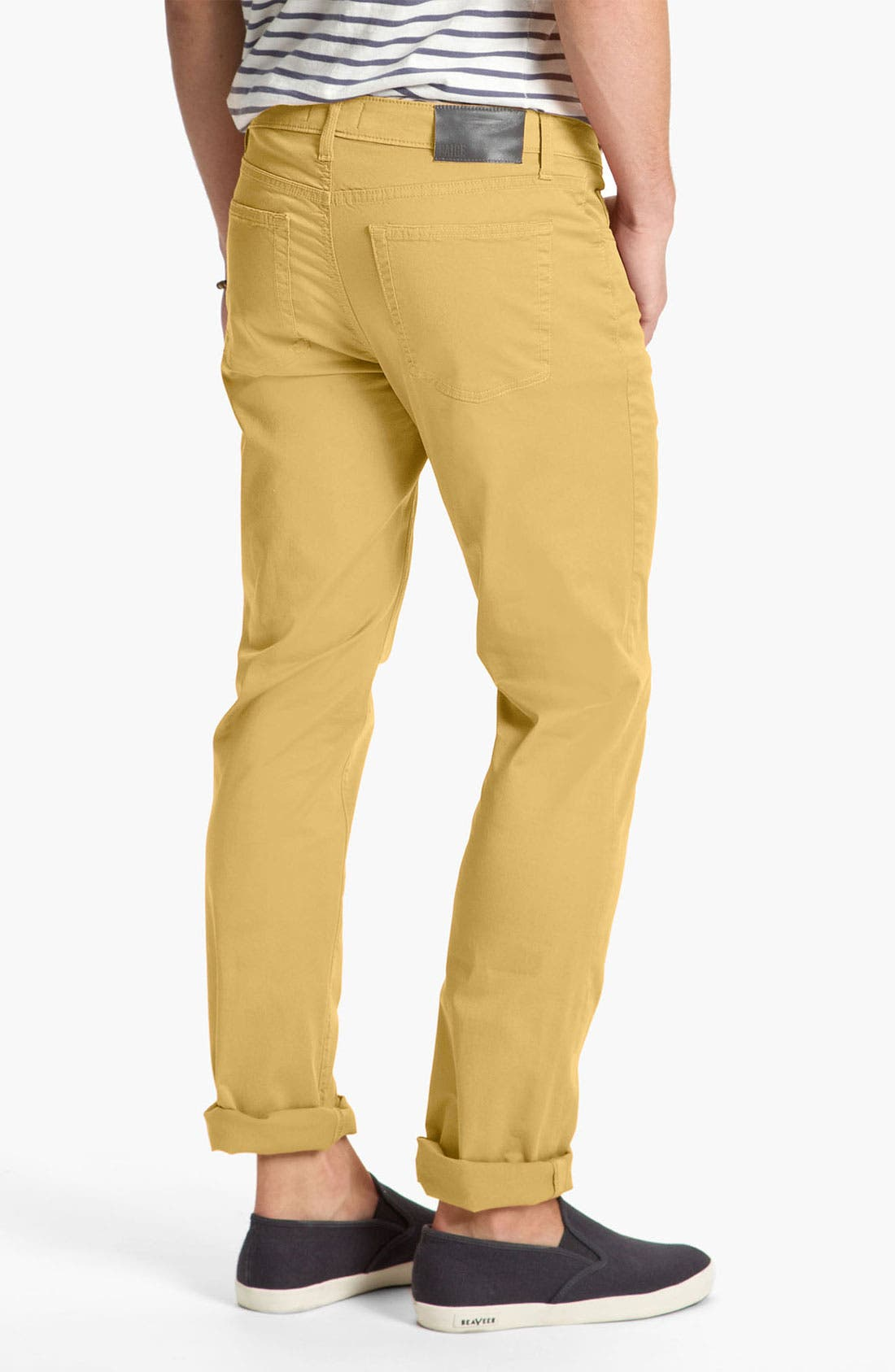 Main Image - PAIGE 'Normandie' Slim Straight Leg Pants