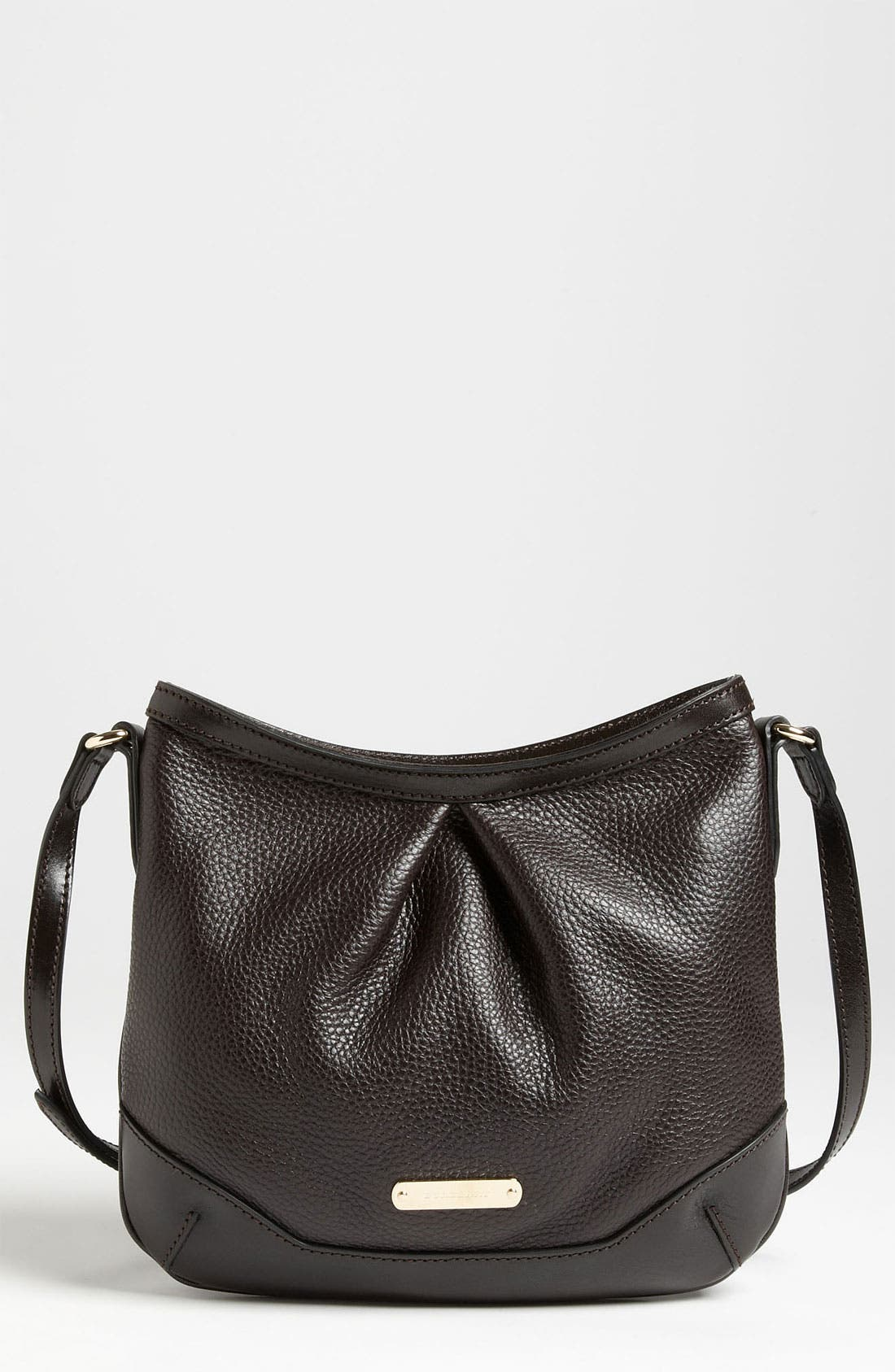 Alternate Image 1 Selected - Burberry 'London Grainy' Leather Crossbody Bag