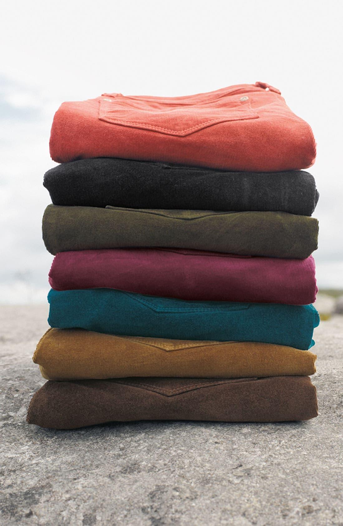 Alternate Image 3  - NYDJ Skinny Corduroy Jeans