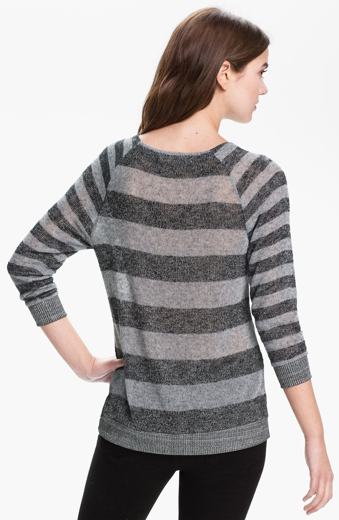 Alternate Image 2  - Soft Joie 'Sky' Sheer Stripe Sweater