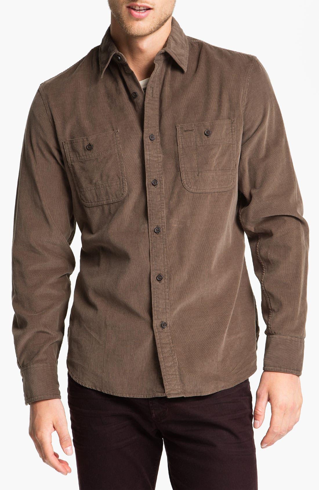 Alternate Image 1 Selected - Wallin & Bros. Corduroy Work Shirt
