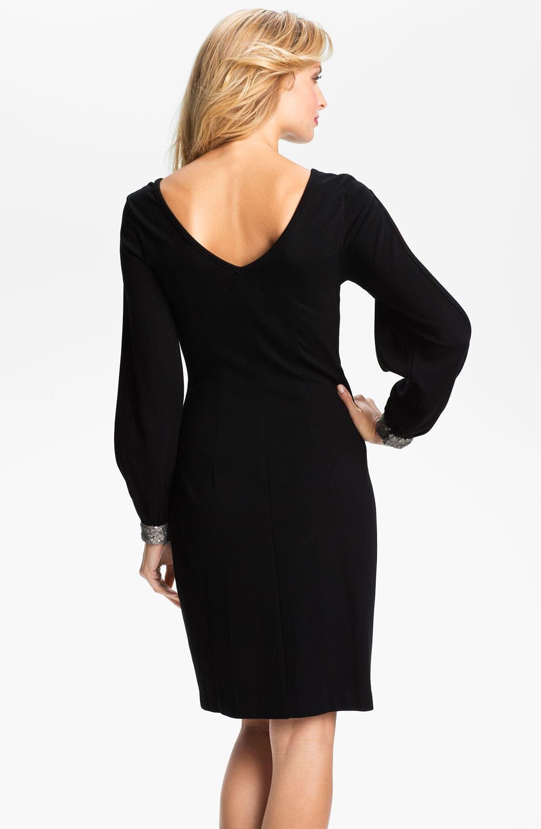 Alternate Image 2  - Karen Kane 'Wensi' Split Sleeve Dress