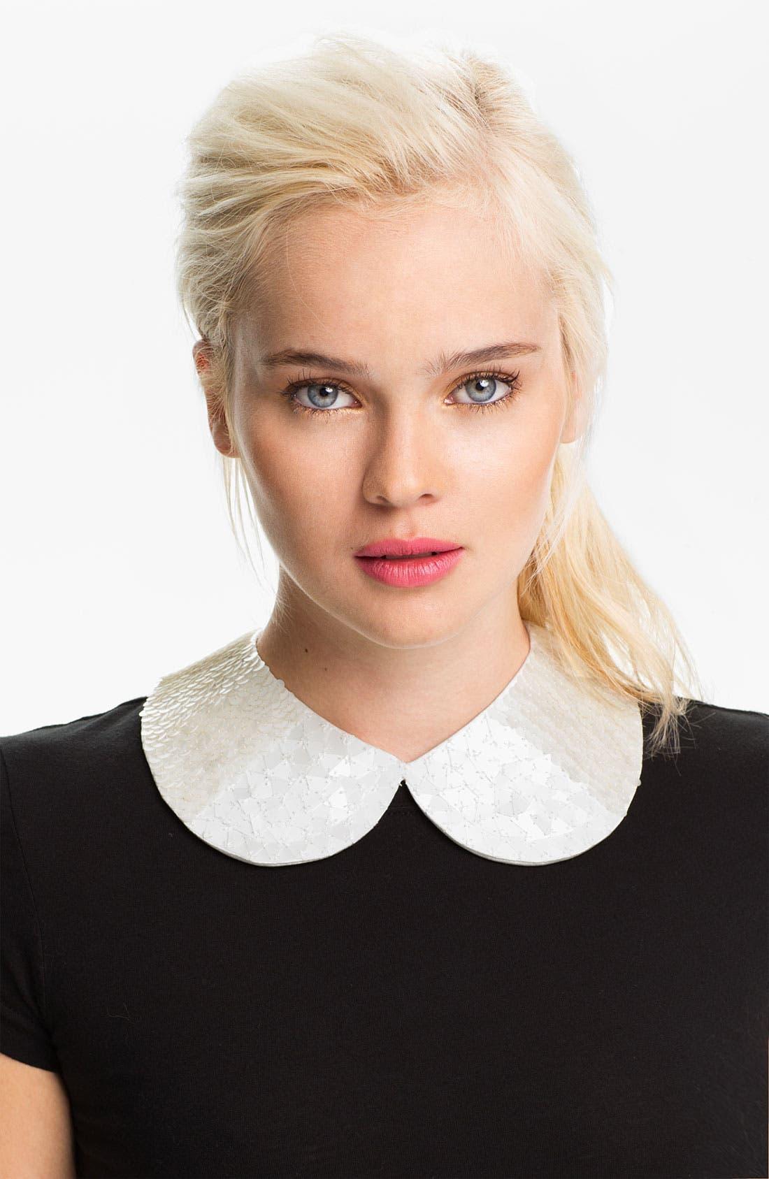 Main Image - Tarnish Sequin Collar