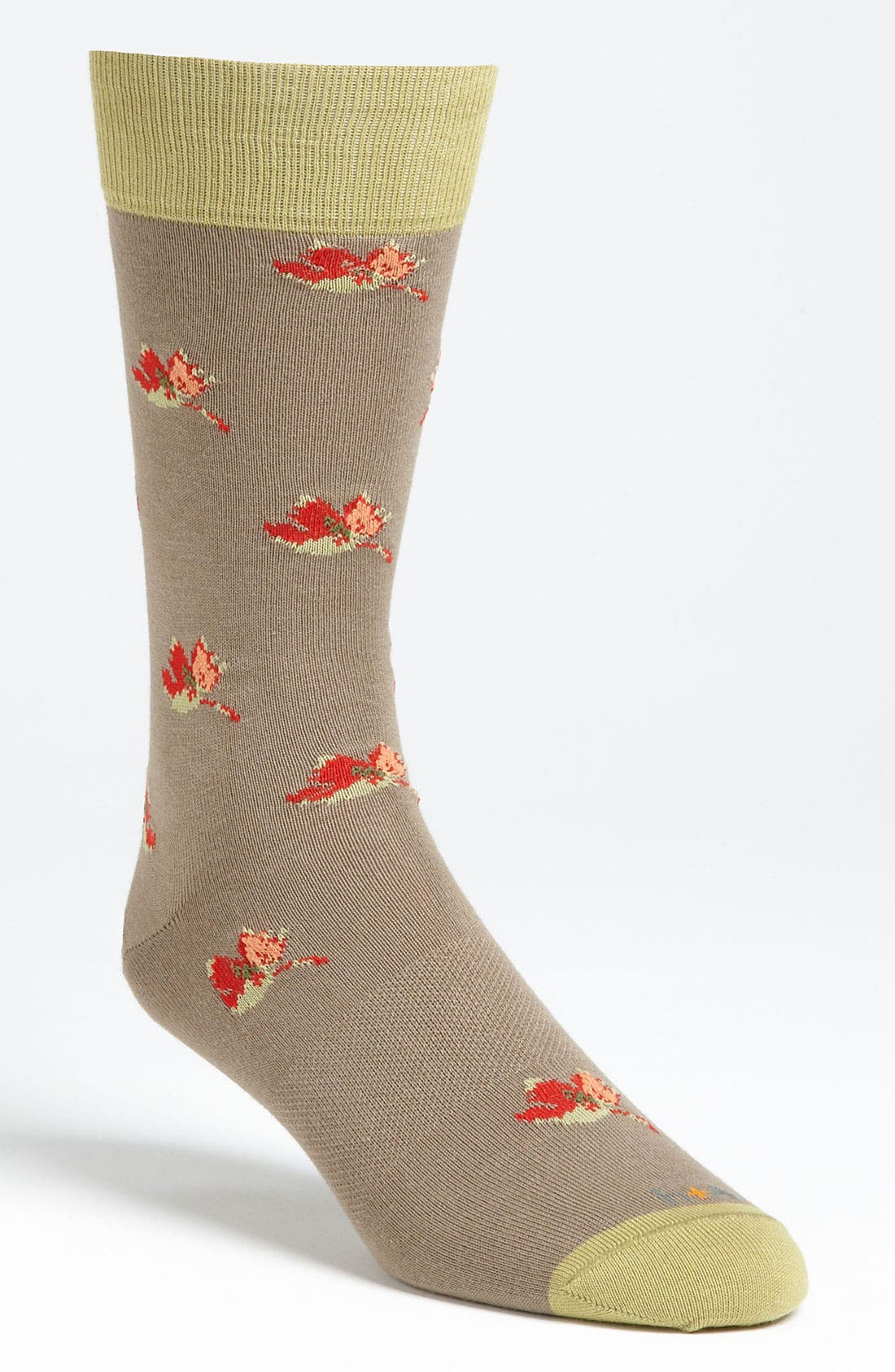 Alternate Image 1 Selected - hook + ALBERT 'Falling Leaves' Socks