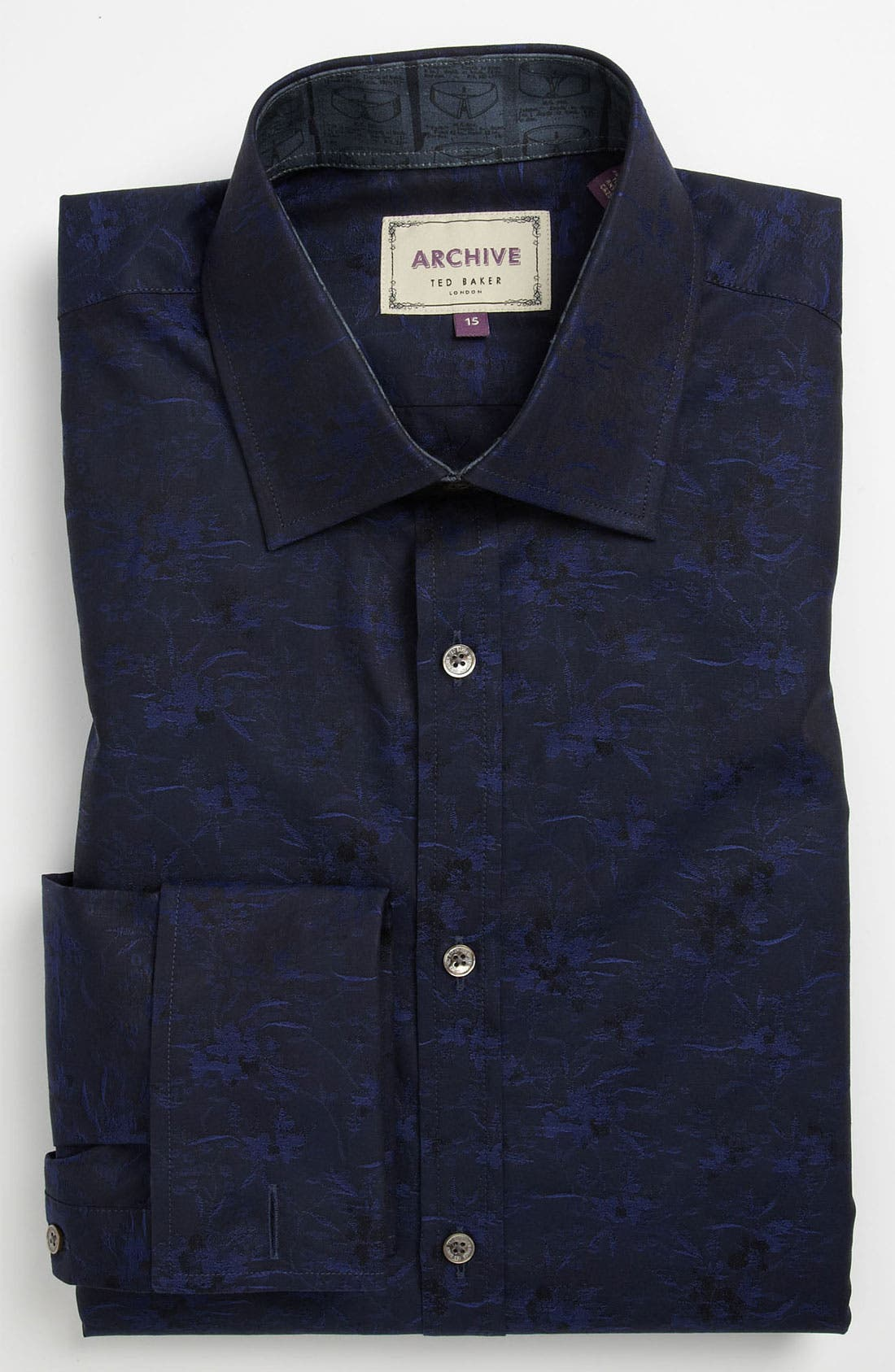 Alternate Image 1 Selected - Ted Baker London Trim Fit Dress Shirt