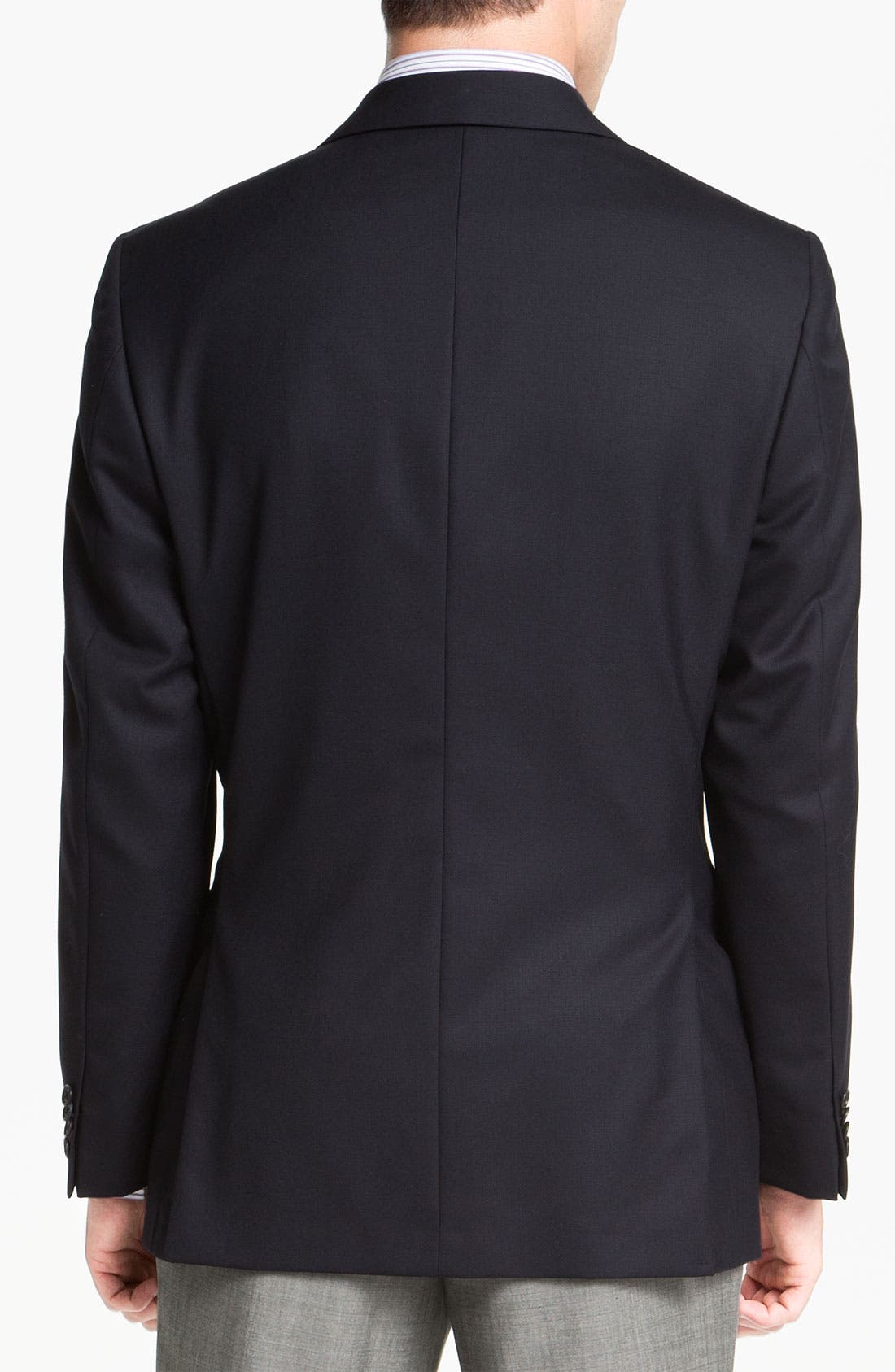 Alternate Image 2  - Joseph Abboud Solid Wool Blazer