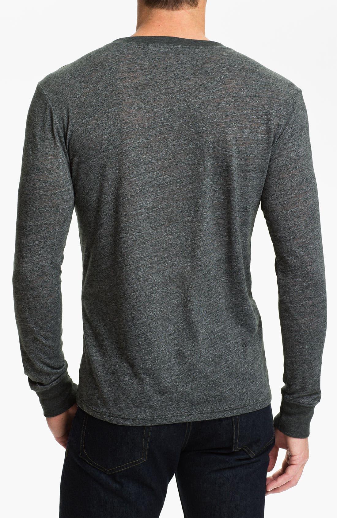 Alternate Image 2  - Threads for Thought V-Neck T-Shirt