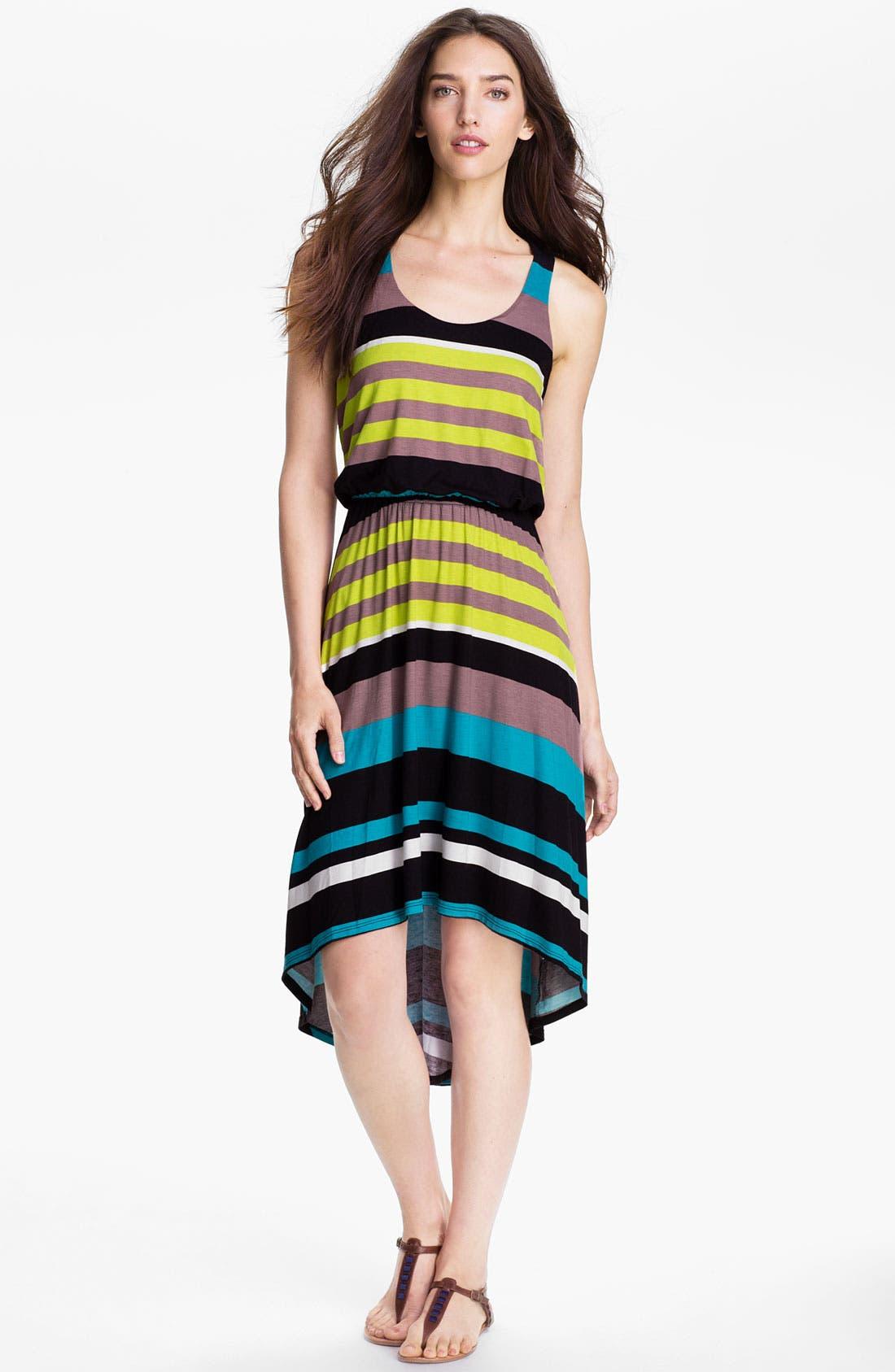 Alternate Image 1 Selected - Bobeau Racerback Jersey Dress
