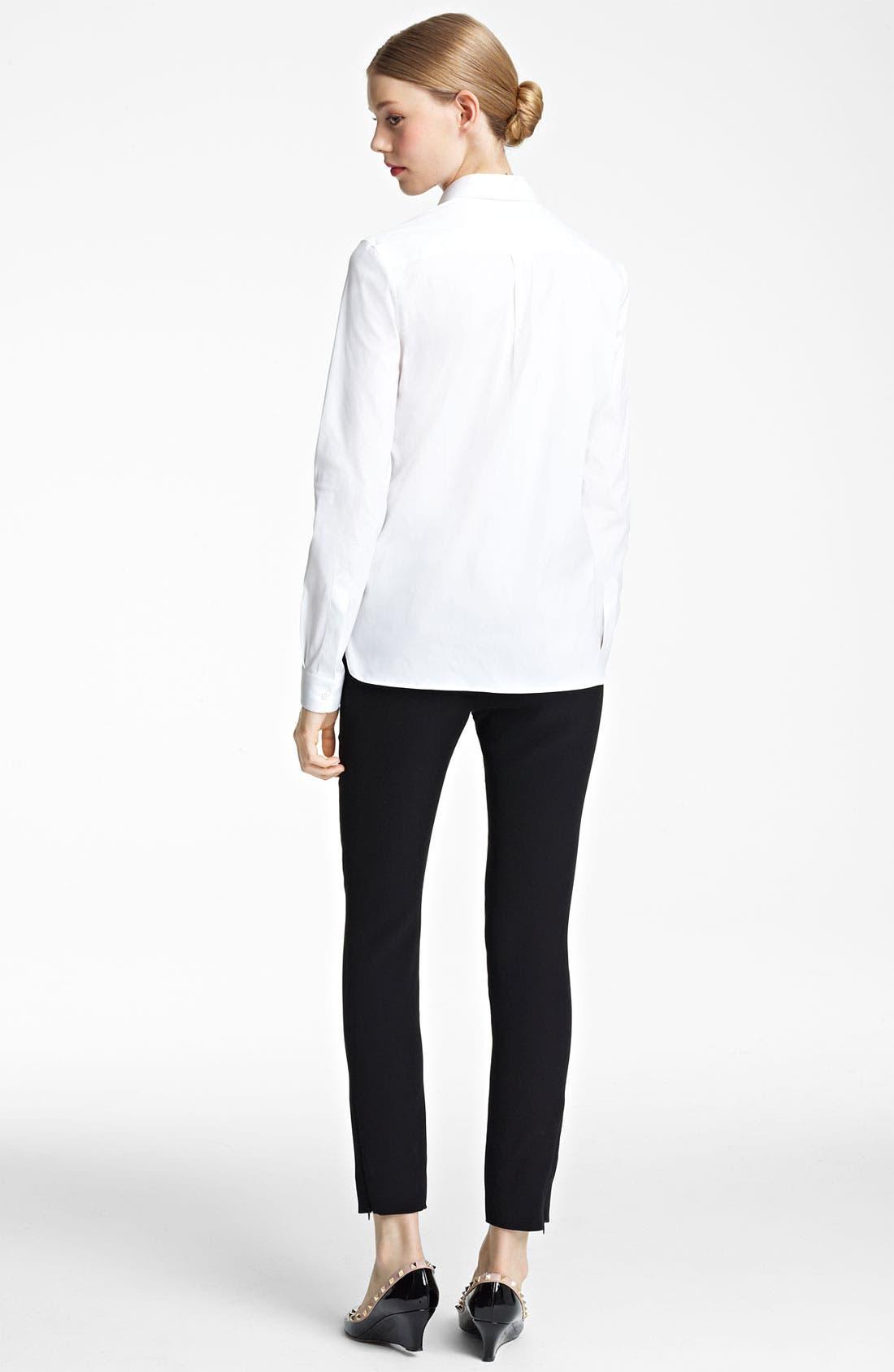 Alternate Image 2  - Valentino Lace Inset Shirt
