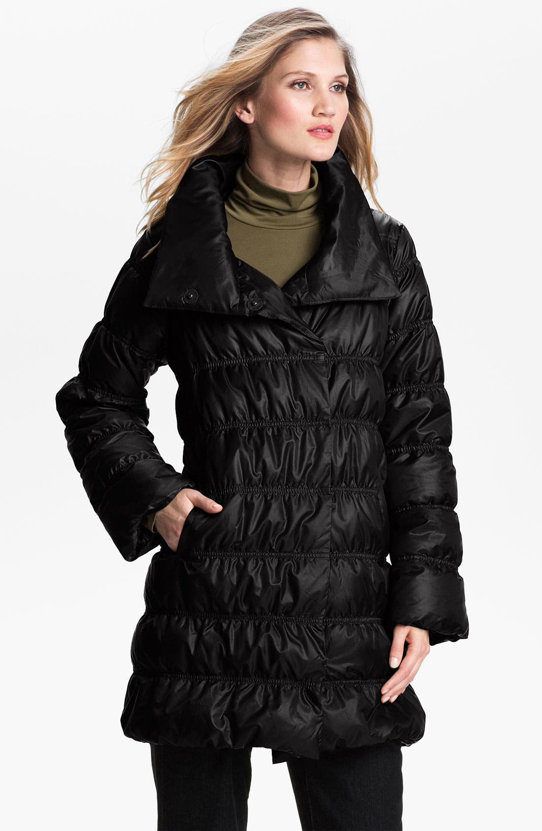 Alternate Image 1 Selected - Eileen Fisher Weather Resistant Down Jacket