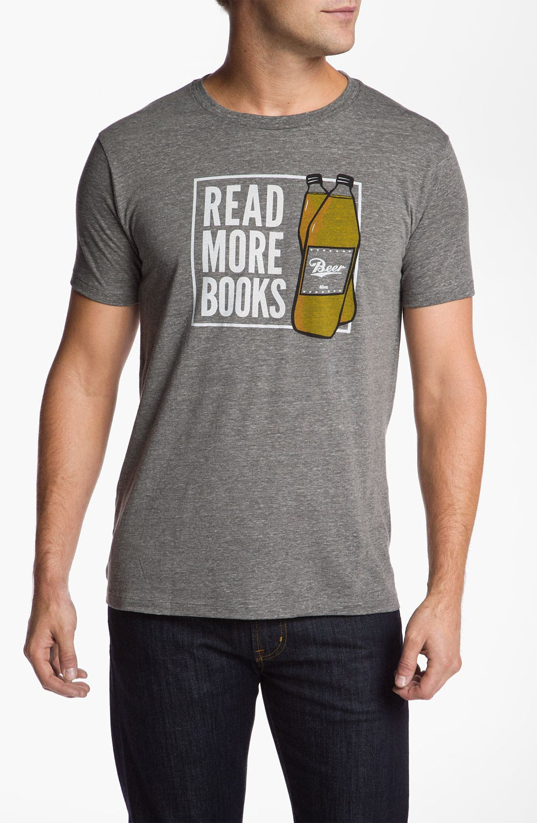 Alternate Image 1 Selected - Headline Shirts 'Read More Books' Graphic T-Shirt
