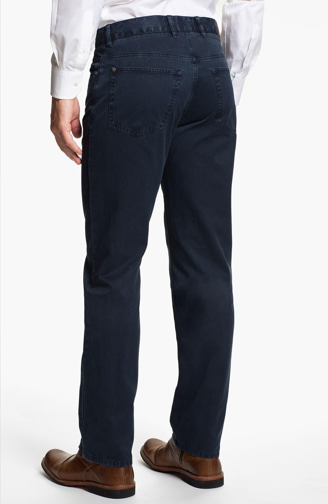 Alternate Image 2  - Robert Talbott 'Ventana' Five Pocket Pants