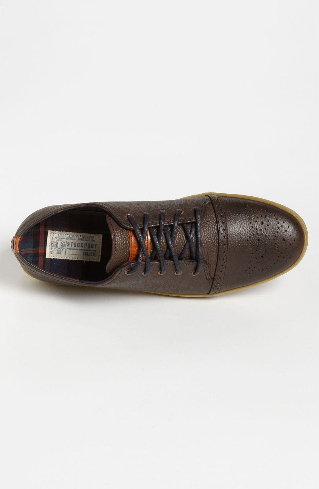 Alternate Image 3  - Fred Perry 'Deighton' Leather Sneaker