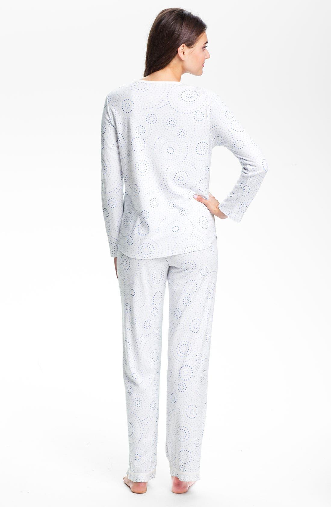 Alternate Image 2  - Carole Hochman Designs Interlock Knit Pajamas