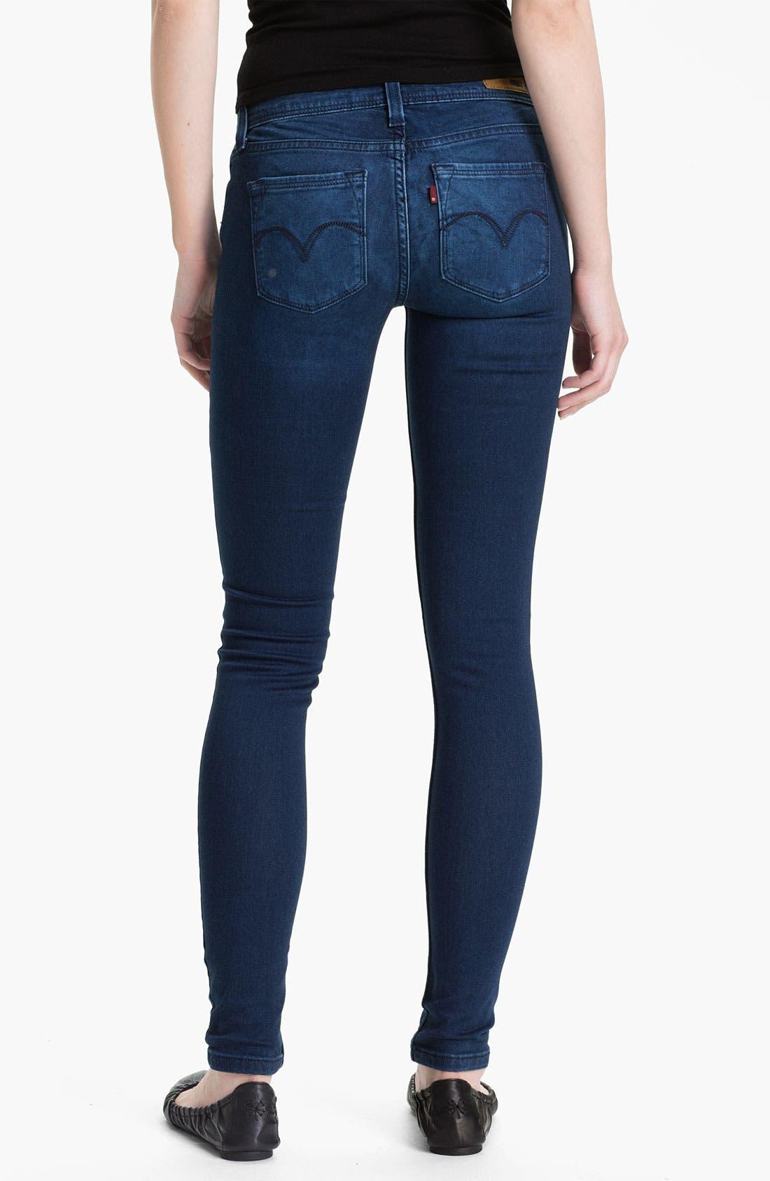 Main Image - Levi's® Denim Leggings (Blue Lagoon Sateen)