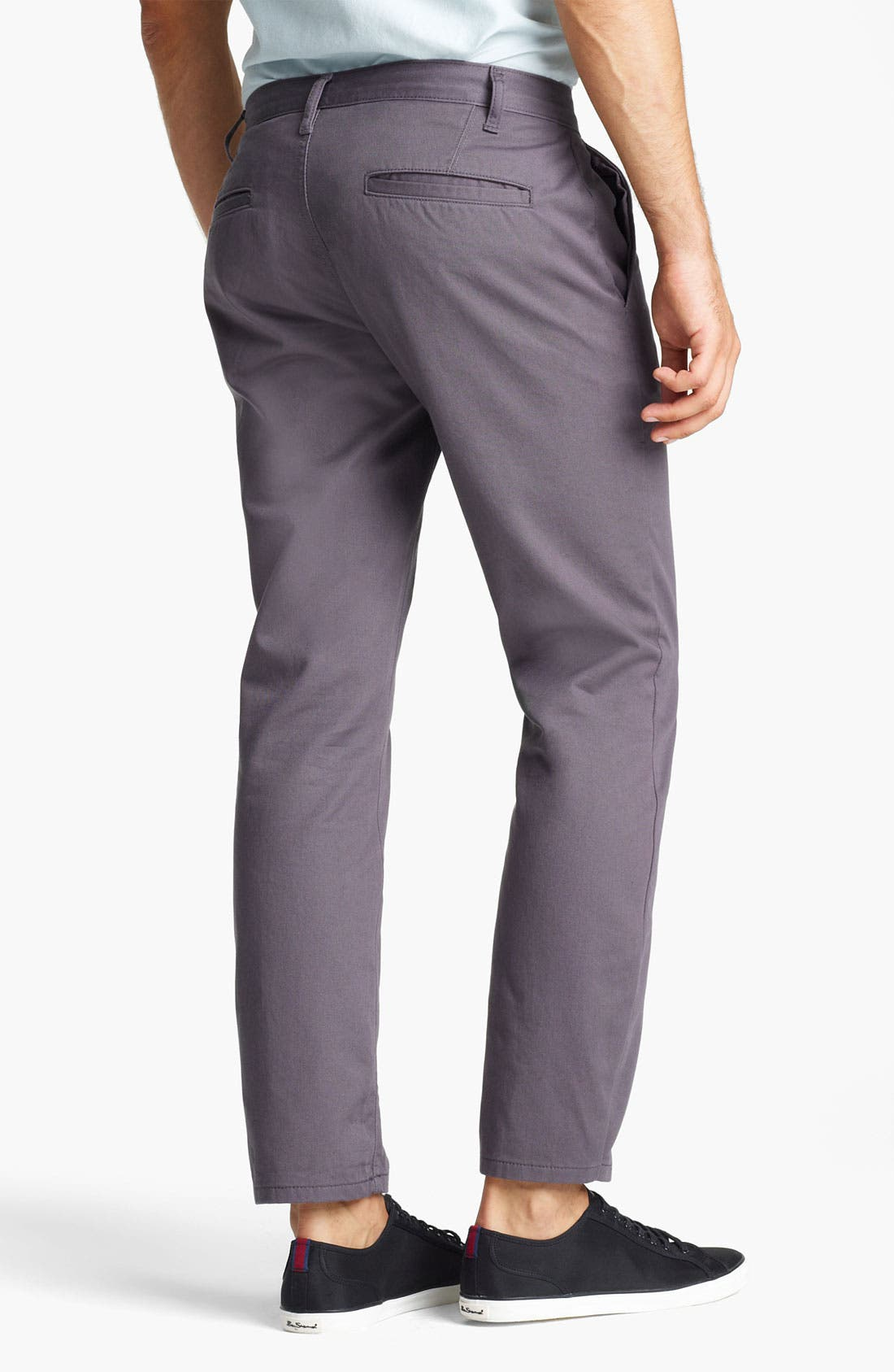 Alternate Image 2  - Topman Skinny Stretch Chinos