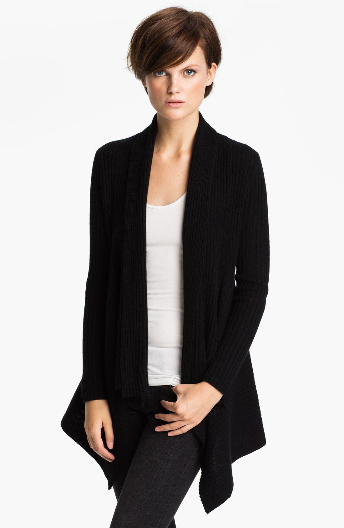 Alternate Image 1 Selected - autumn cashmere Shawl Collar Drape Cardigan