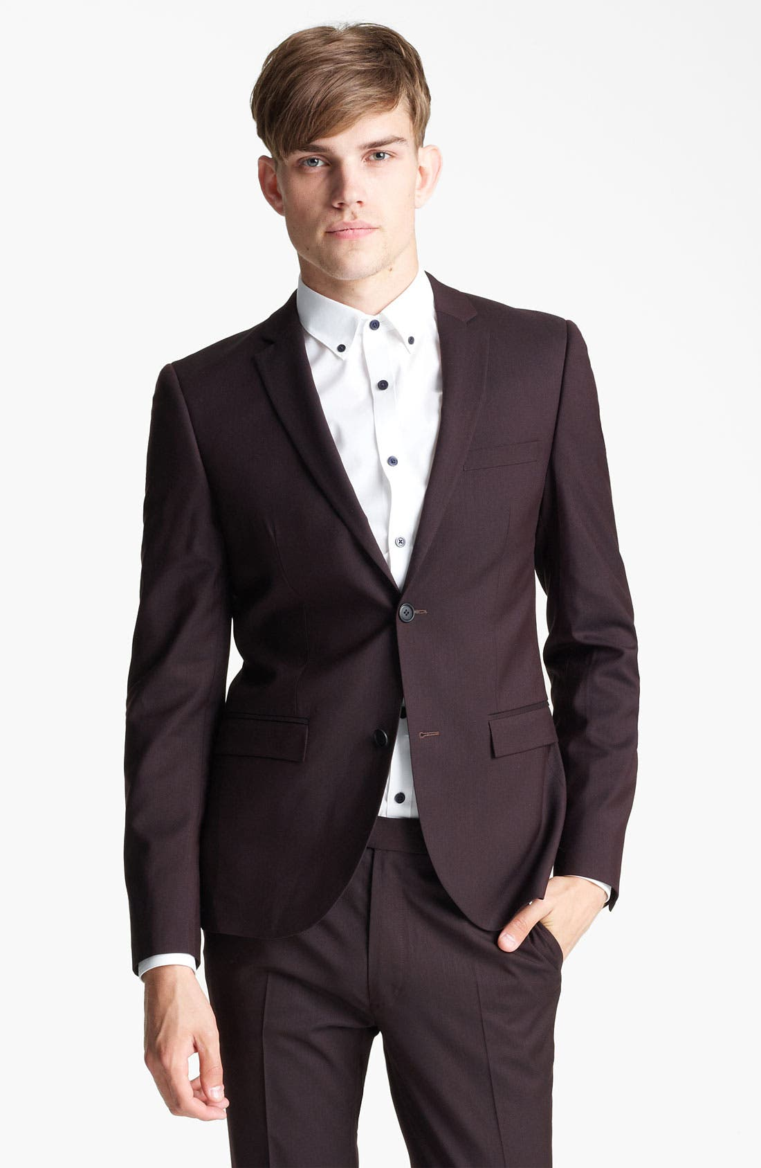 Alternate Image 1 Selected - Topman Ultra Skinny Suit Jacket