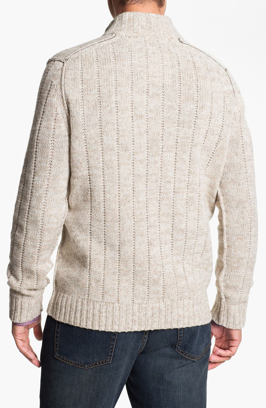Alternate Image 2  - Tommy Bahama 'Outer Banks' Mock Neck Cable Knit Sweater