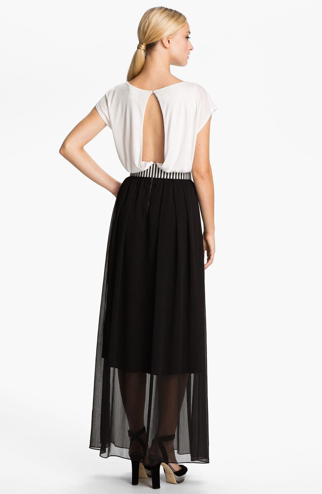Alternate Image 2  - Alice + Olivia 'Kirean' Belted Dolman Sleeve Dress