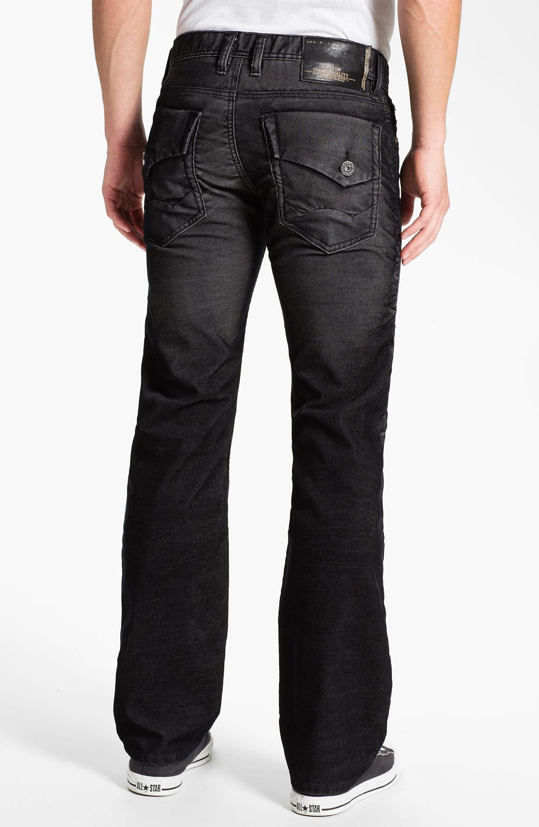 Alternate Image 1 Selected - Cult of Individuality 'Harley' Straight Leg Corduroy Pants