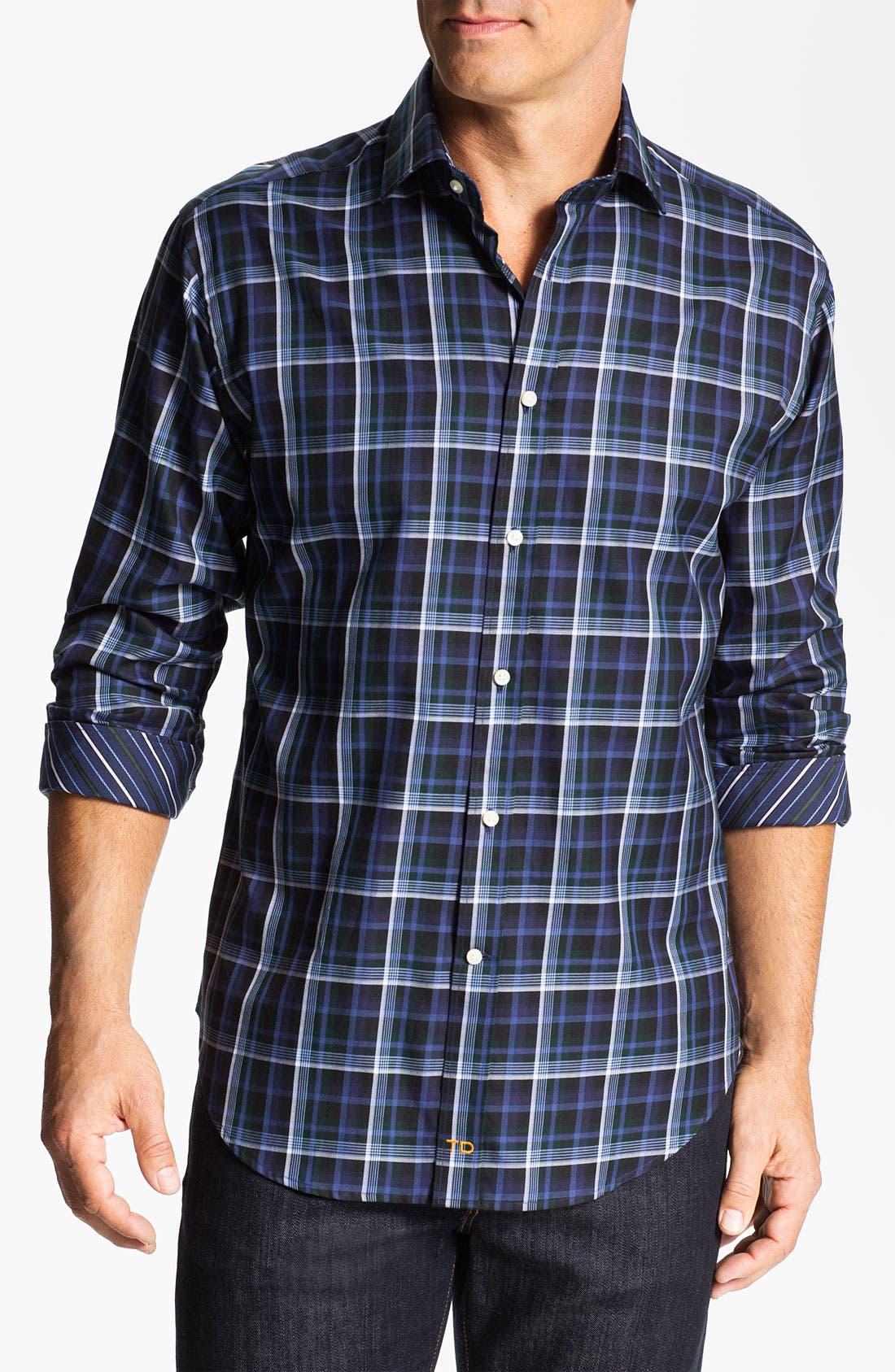 Main Image - Thomas Dean Regular Fit Sport Shirt