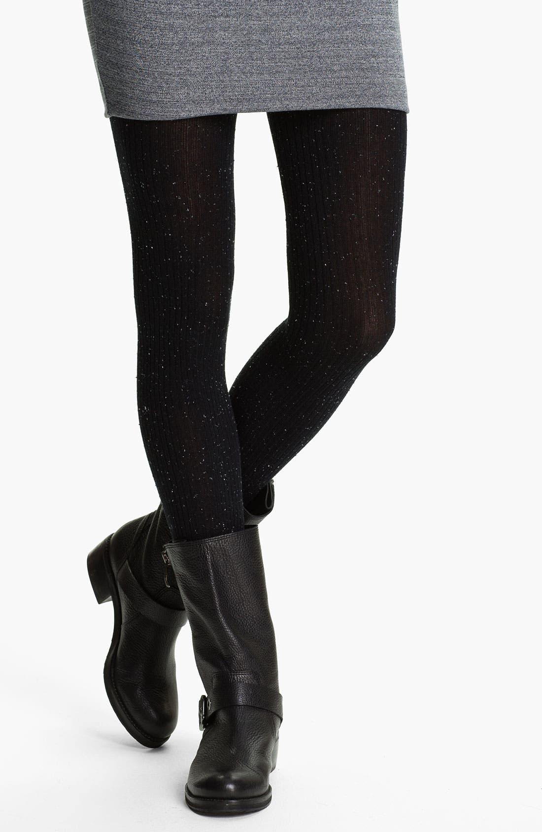 Alternate Image 1 Selected - DKNY Tweedy Tights