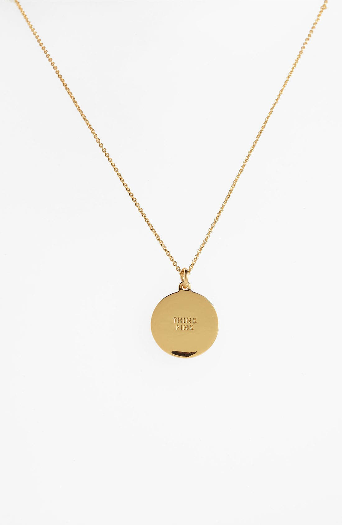Alternate Image 2  - kate spade new york 'idiom' reversible pendant necklace