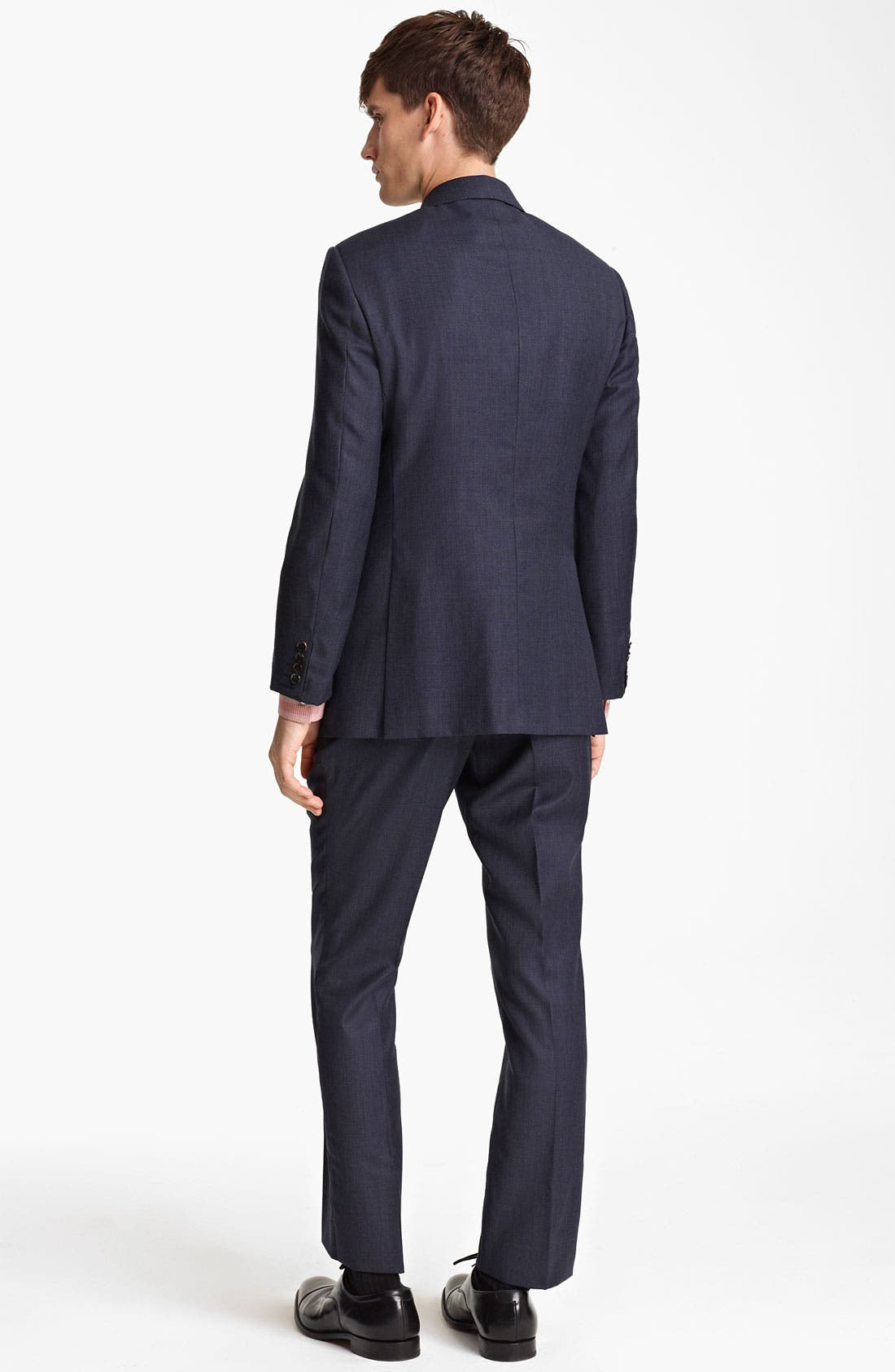Alternate Image 3  - Burberry London Extra Trim Fit Wool Suit
