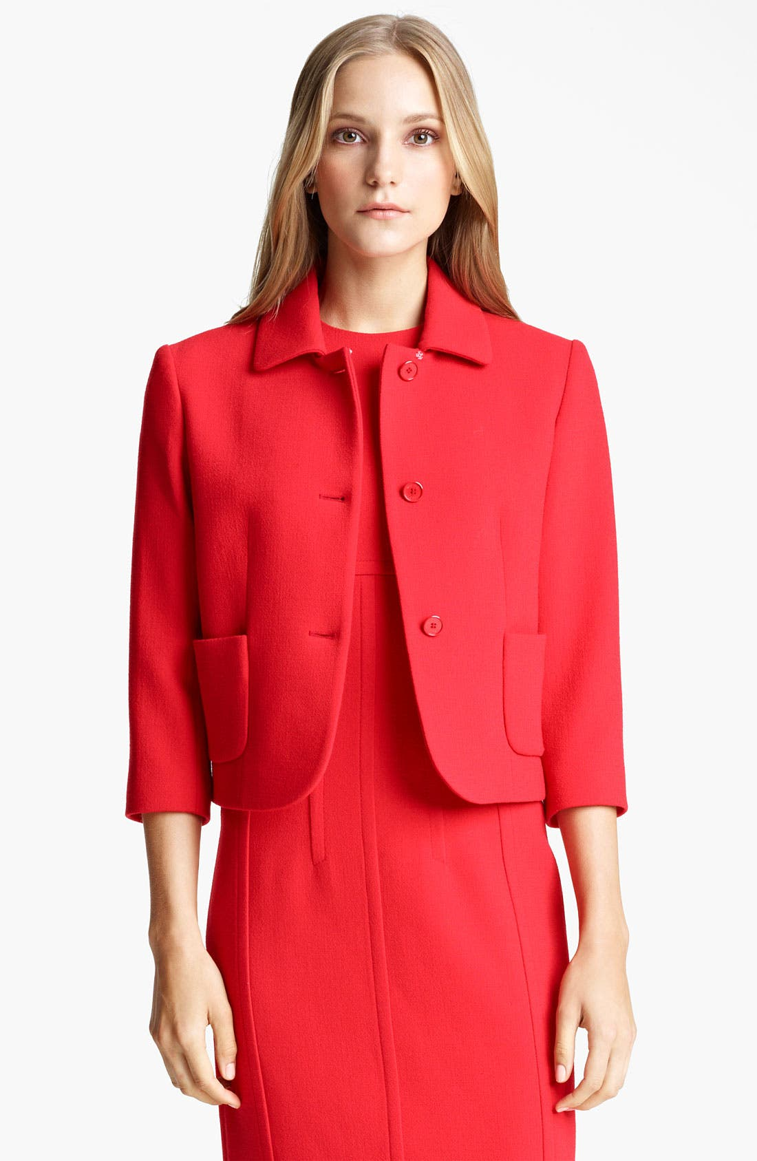 Alternate Image 1 Selected - Michael Kors Bouclé Jacket
