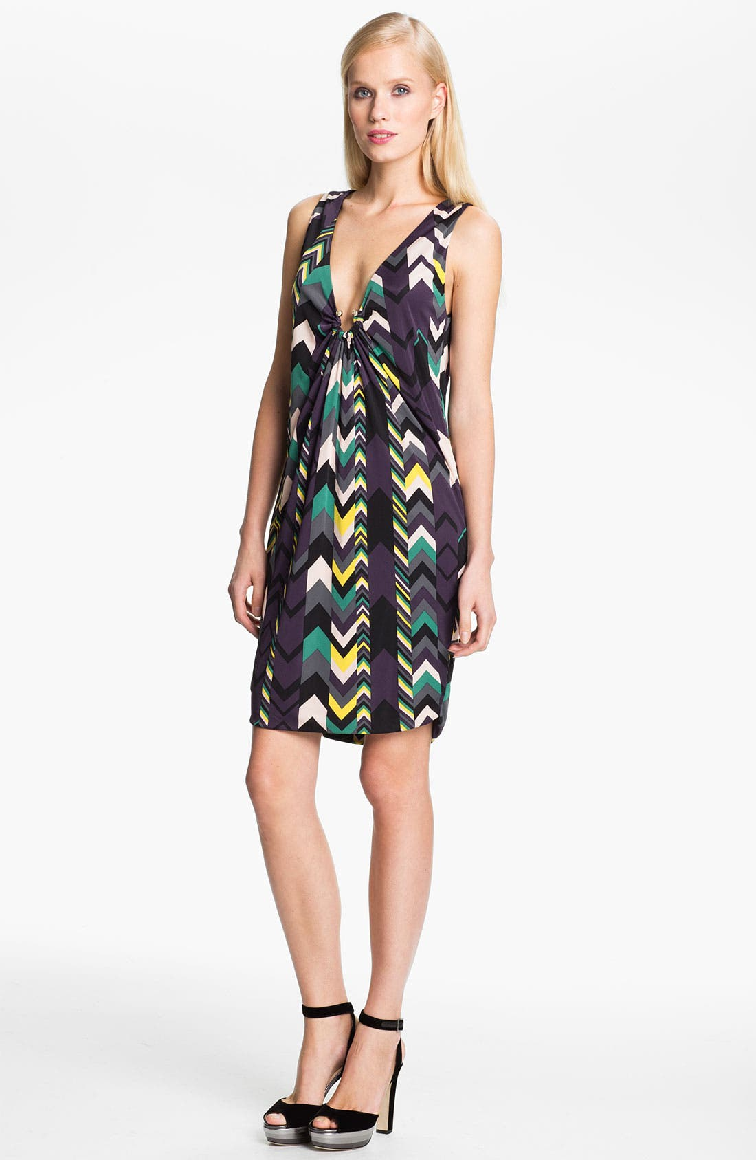 Alternate Image 3  - M Missoni Zigzag Print Reversible Dress