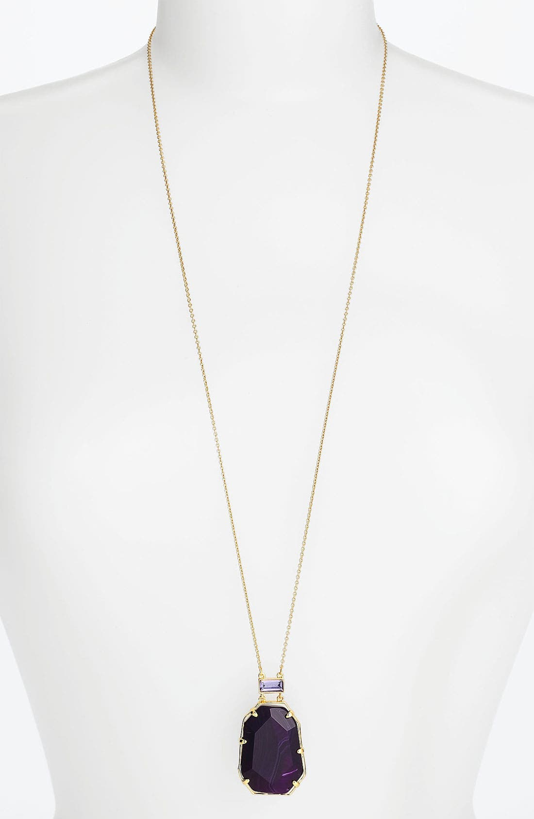 Alternate Image 1 Selected - kate spade new york 'set in stone' pendant necklace