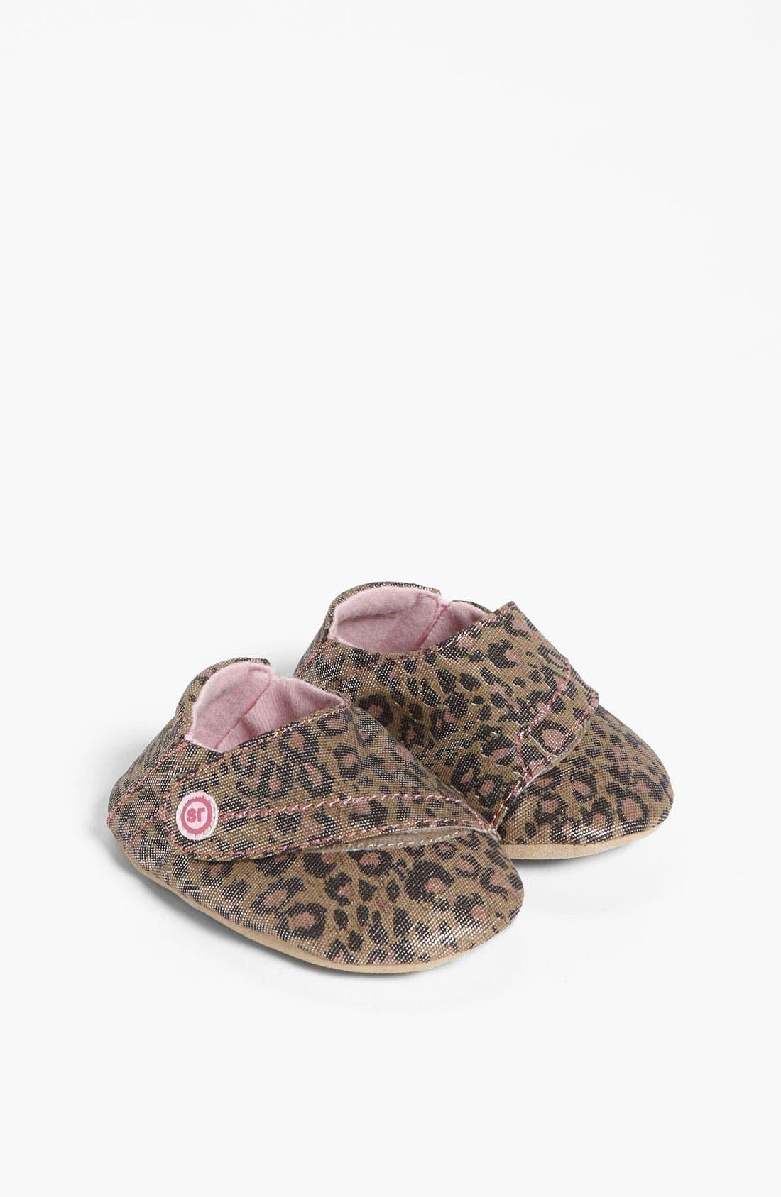 Alternate Image 1 Selected - Stride Rite 'Lush Leopard' Crib Shoe (Baby)