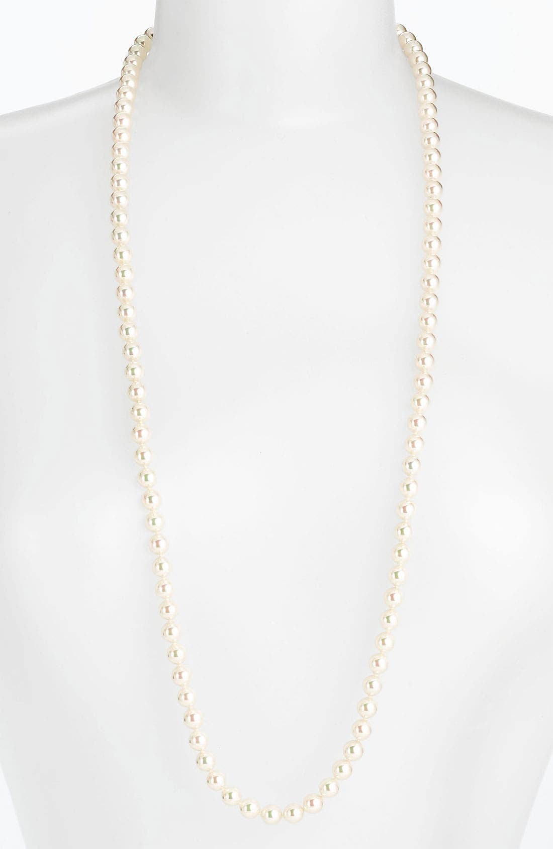 Main Image - Majorica Convertible 8mm Pearl Necklace