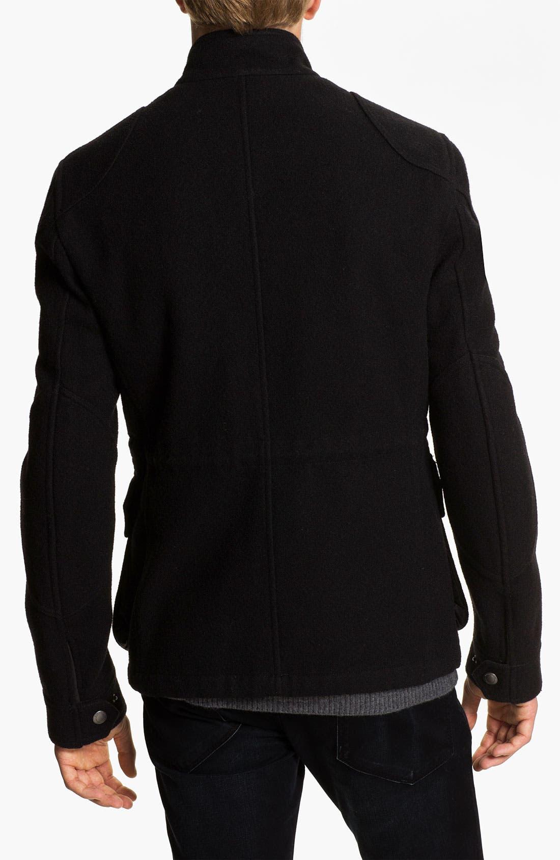 Alternate Image 2  - Burberry Brit Wool Blend Field Jacket