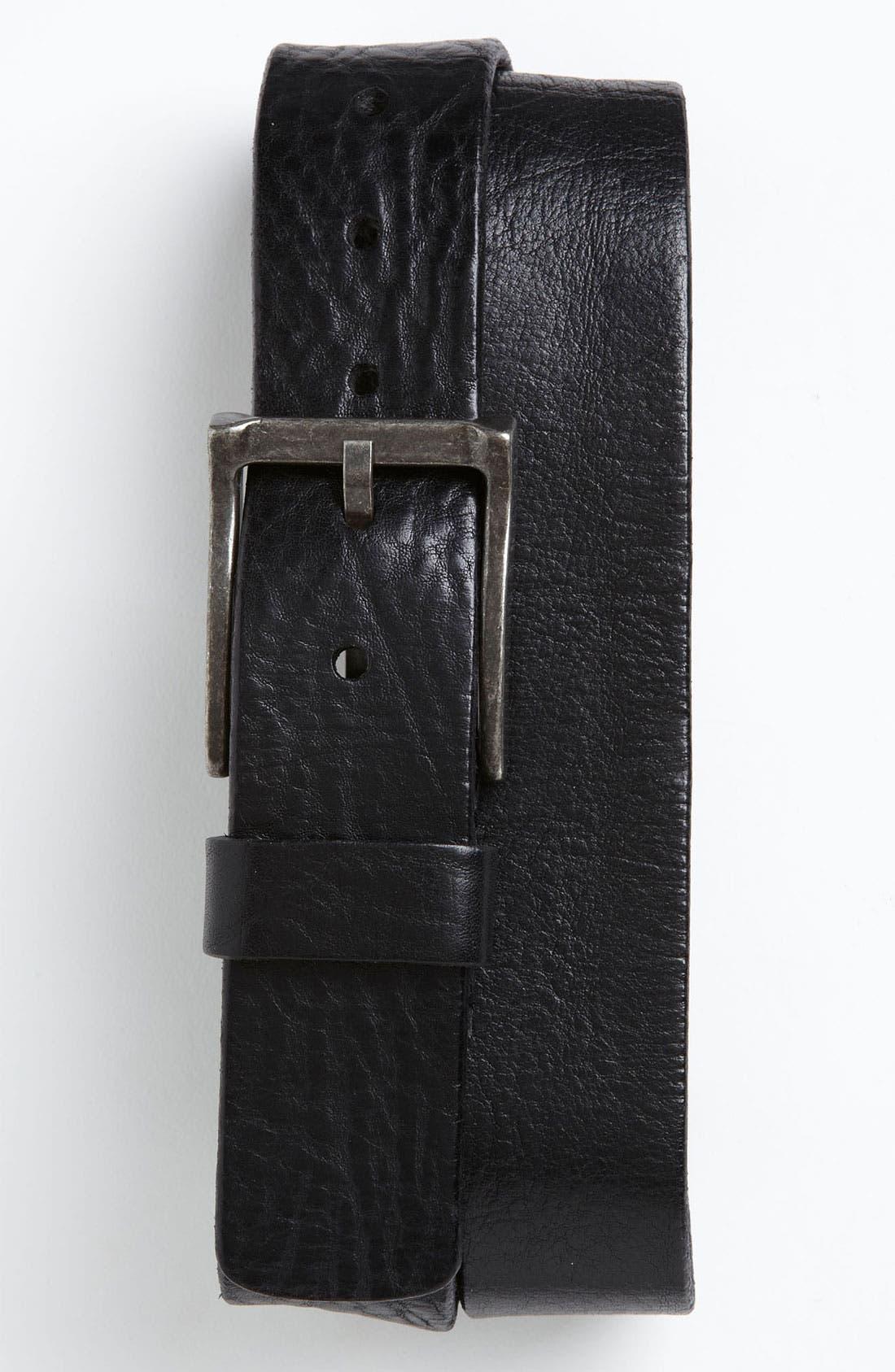 Main Image - Trafalgar 'Reed' Leather Belt