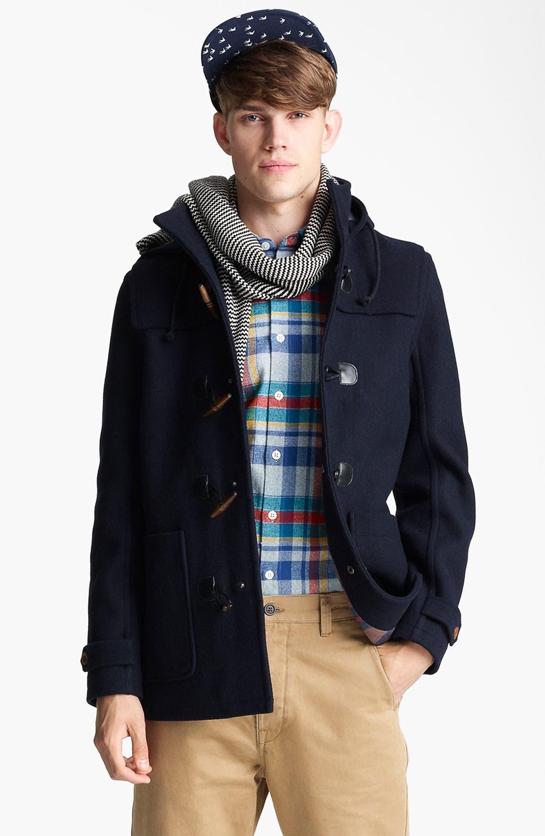 Alternate Image 1 Selected - Topman 'Duffle' Jacket