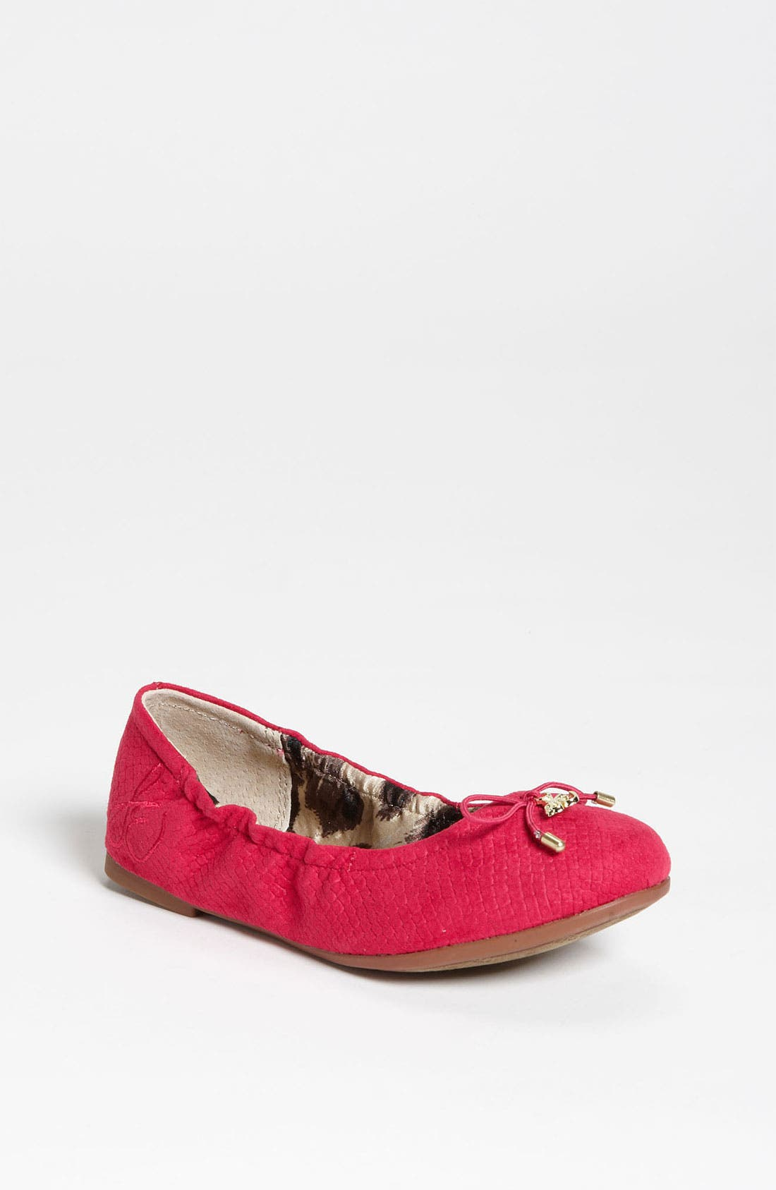 Alternate Image 1 Selected - Sam Edelman 'Fiona' Flat (Toddler, Little Kid & Big Kid)