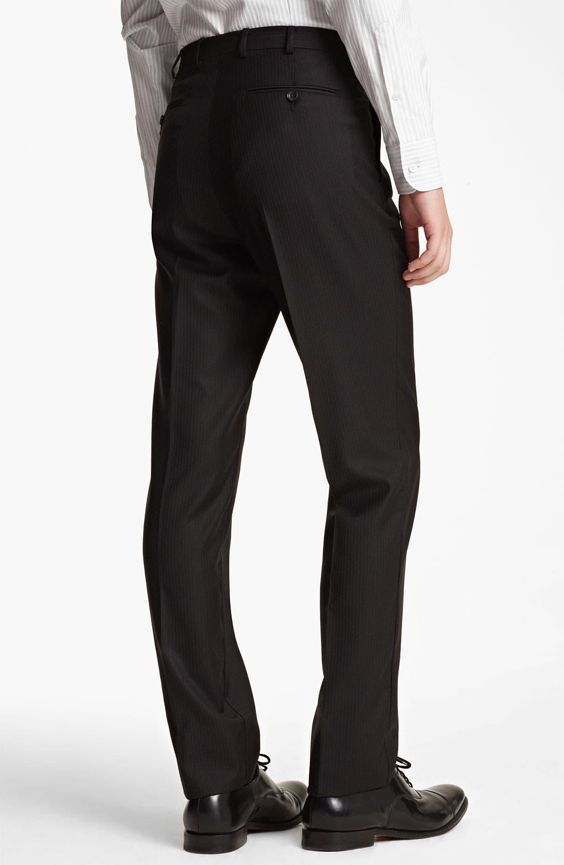 Alternate Image 5  - Z Zegna Trim Fit Herringbone Suit