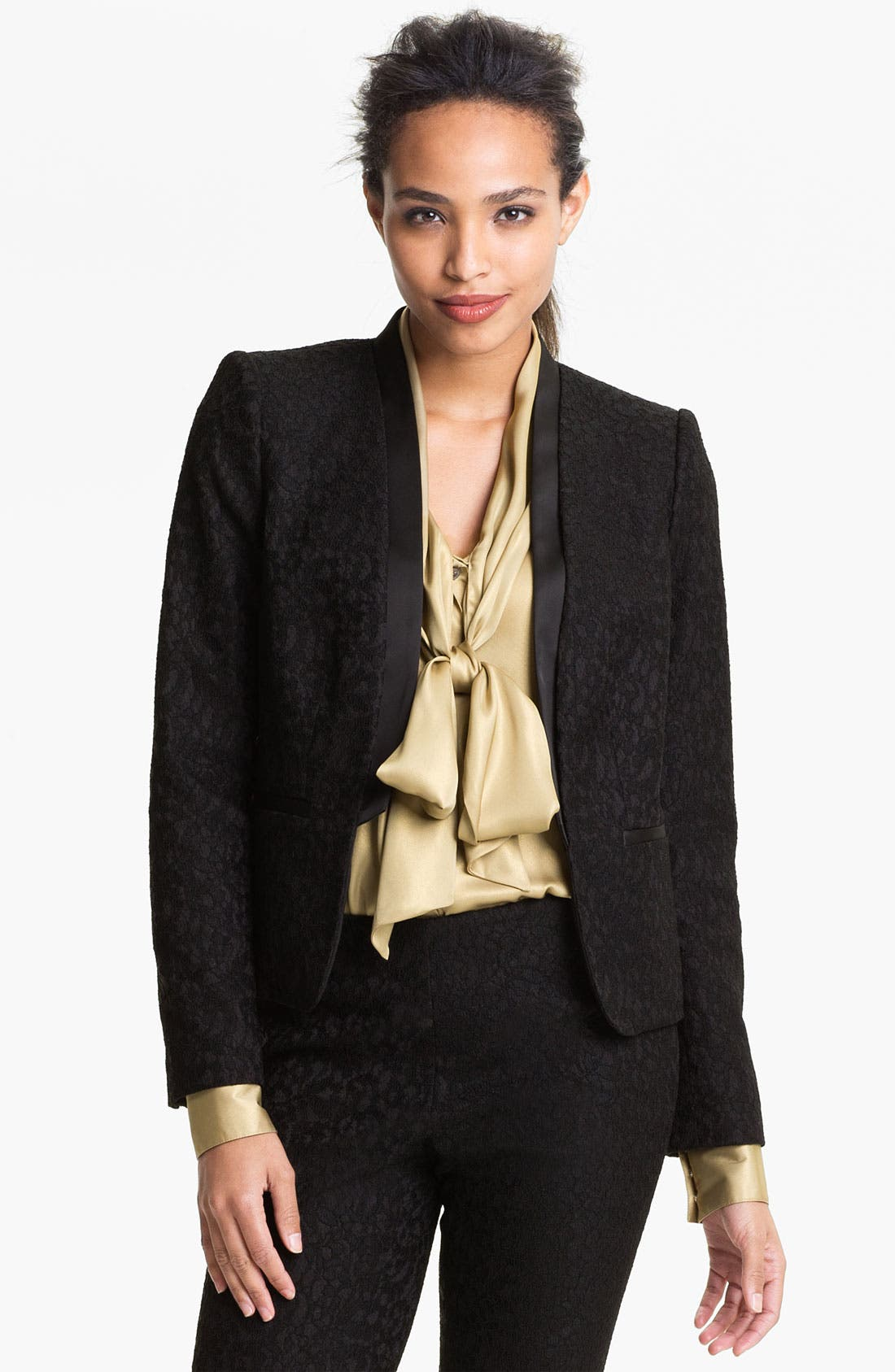 Alternate Image 1 Selected - Vince Camuto Lace Jacket