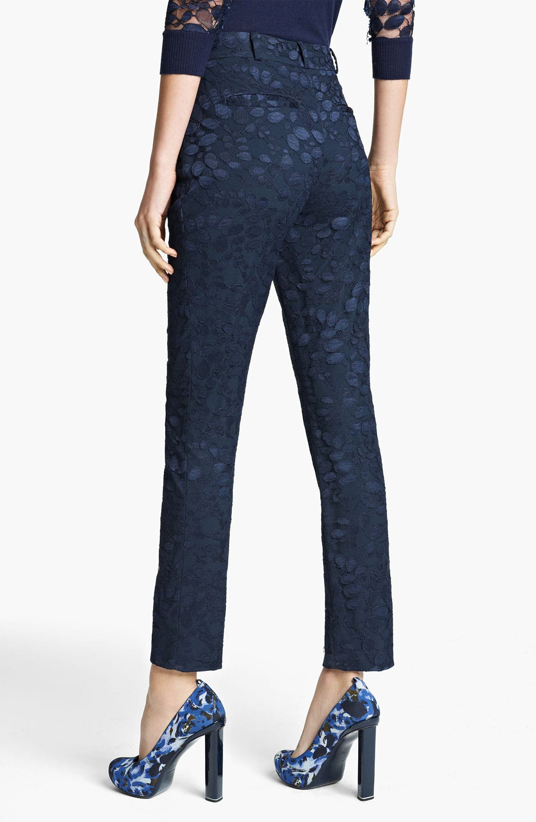 Alternate Image 2  - Erdem Slim Lace Pants
