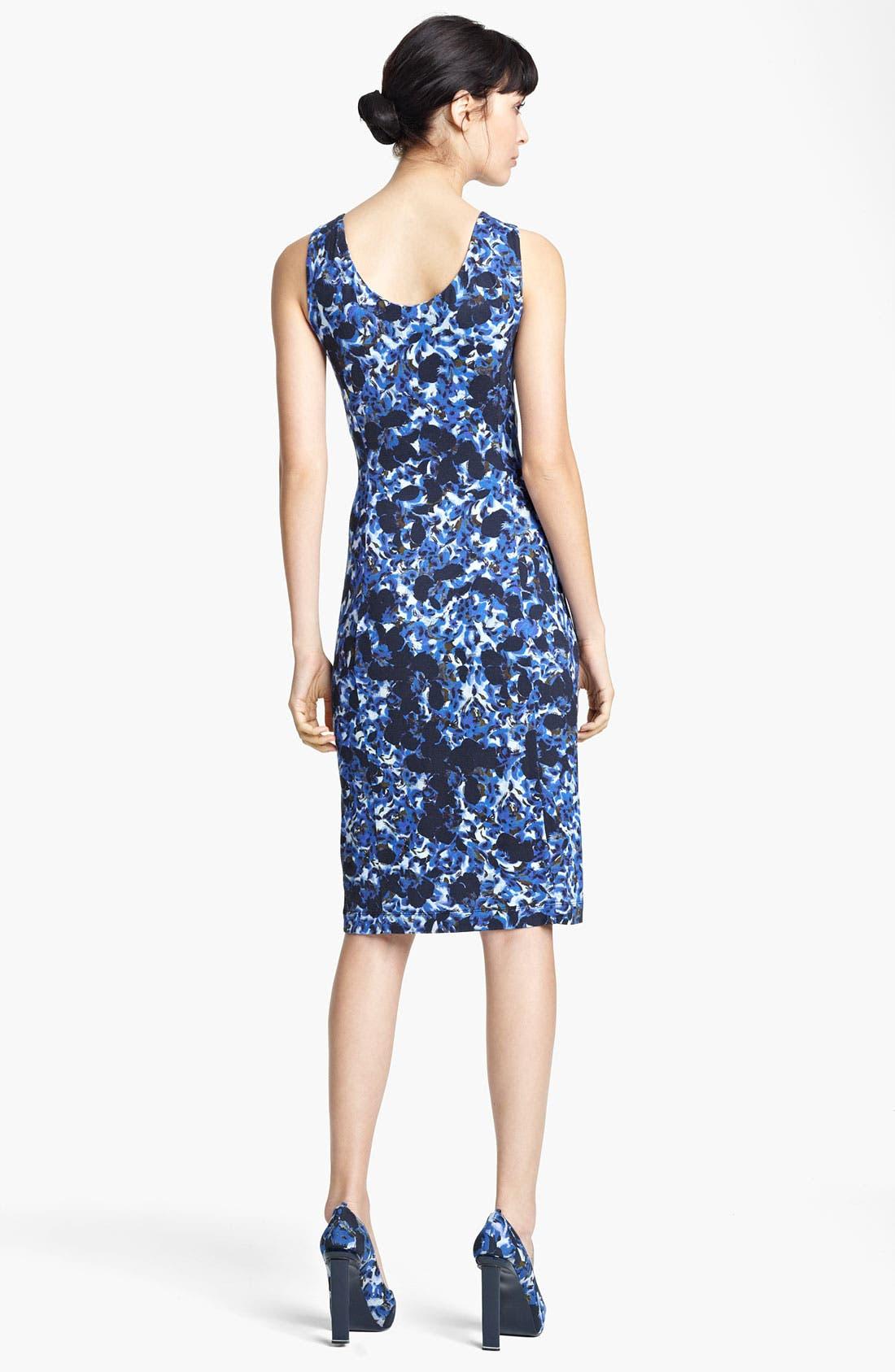 Alternate Image 2  - Erdem Swirl Print Jersey Dress