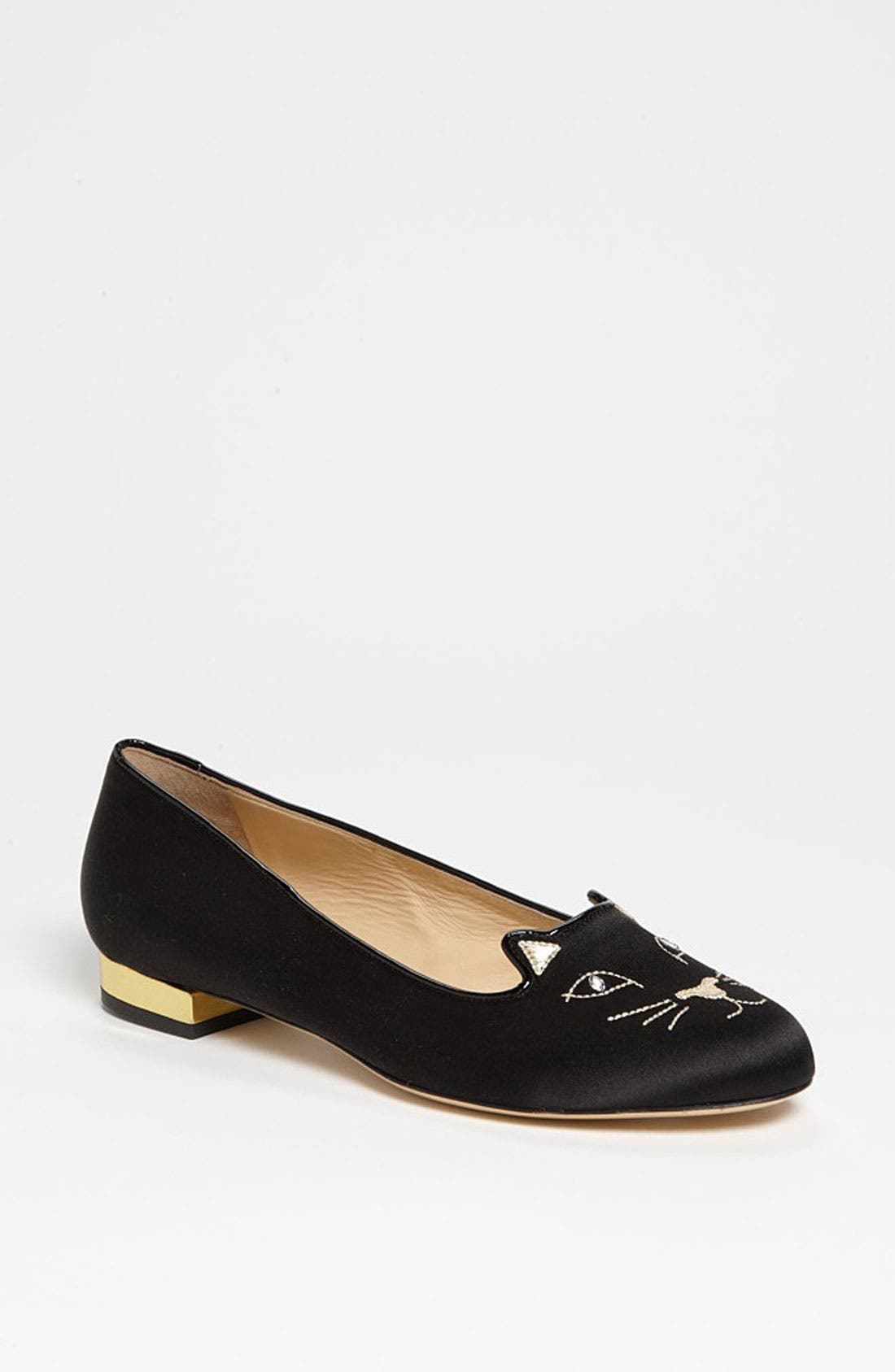 Alternate Image 1 Selected - Charlotte Olympia 'Kitty' Flat