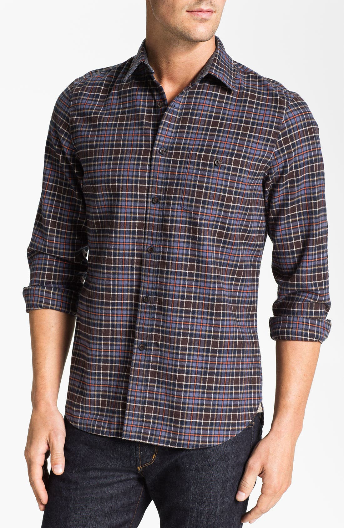 Alternate Image 1 Selected - Wallin & Bros. Plaid Flannel Shirt
